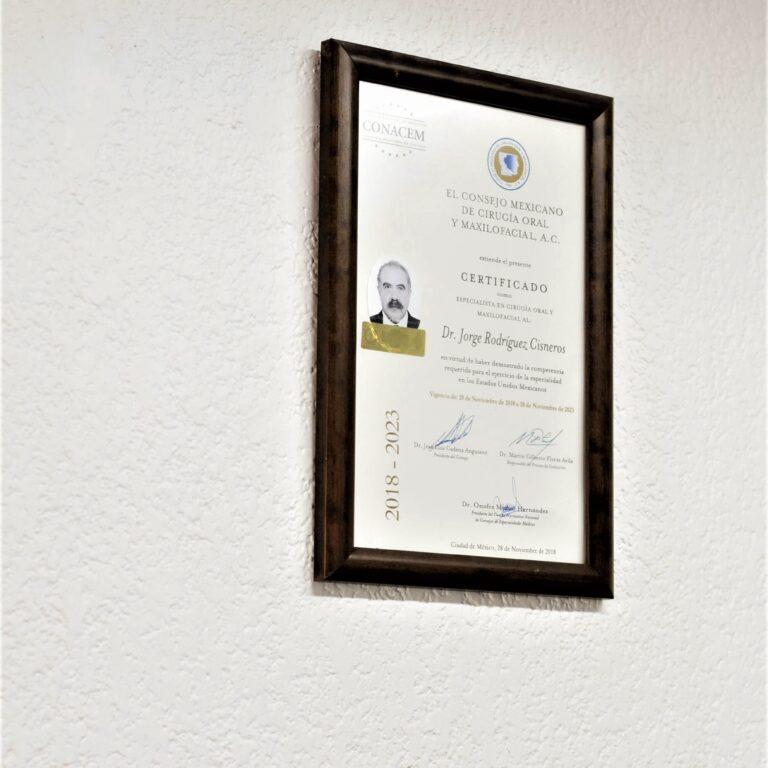 Cirujano Maxilofacial en Tijuana certificado